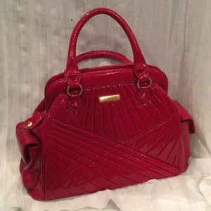Isabella Fiore Red Patent Leather Bag